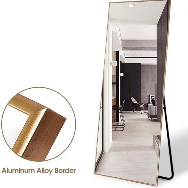 Neutype Full Length Mirror Standing, Wall Leaning Full Length Mirror